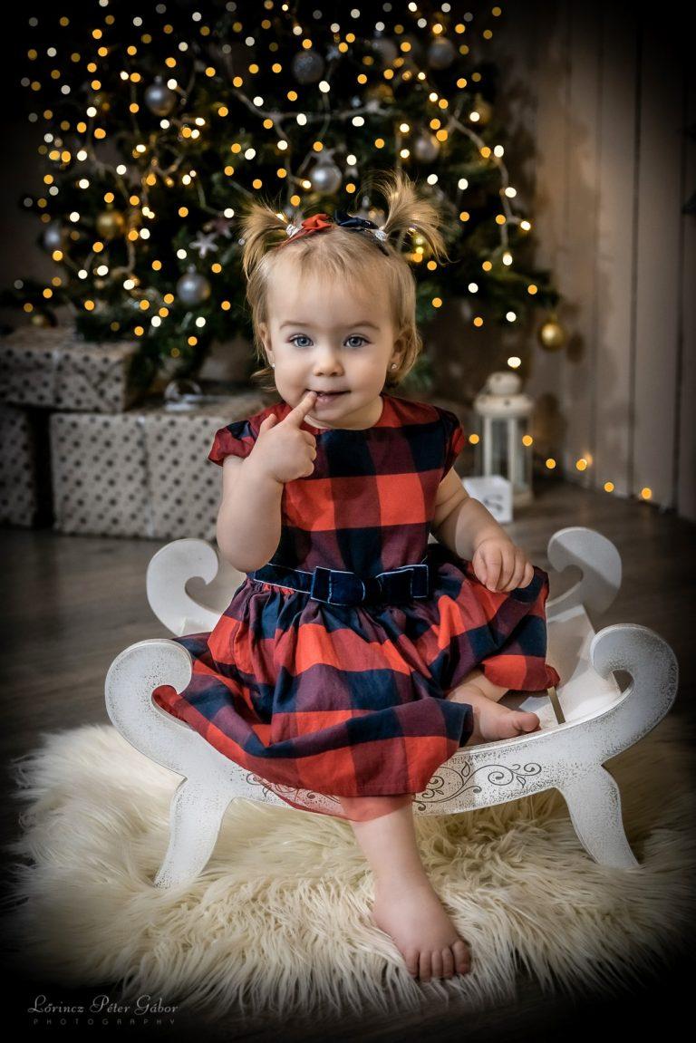 Karácsonyi Családi Fotózás Taszáron 2021
