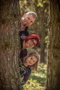 Szabadtéri családi fotózás - Deseda arborétum